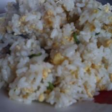 鸡毛菜蛋炒饭