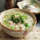 豌豆牛肉粥