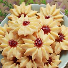 草莓酱曲奇饼干