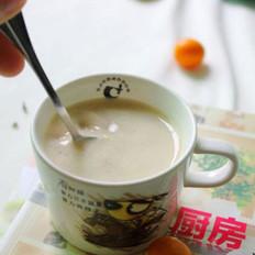 红枣桂圆豆浆的做法