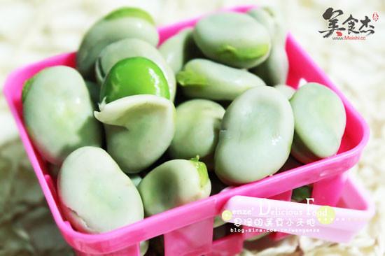 水煮蚕豆的做法