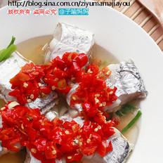 剁椒蒸带鱼的做法