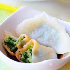 鱼肉韭菜水饺的做法