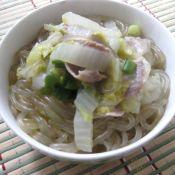 大白菜炖粉条子