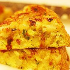 土豆泥蛋饼的做法