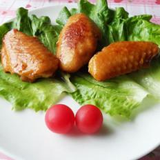 酒酿酱香无油焖鸡翅的做法