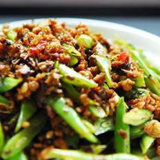 芽菜肉末炒四季豆