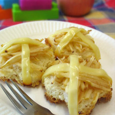面包版奶酪蘋果派的做法