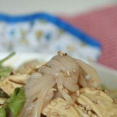 芝麻酱拌腐竹