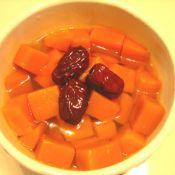 冰糖南瓜炖红枣
