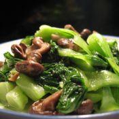 珍珠菇炒油菜