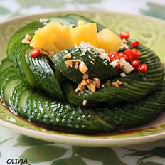 蓑衣黃瓜的做法