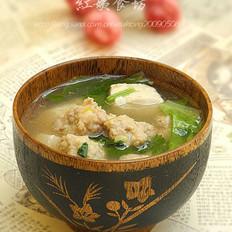 砂锅丸子汤的做法