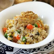 咖喱鸡翅炒饭