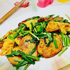 韭菜鸡蛋炒土豆