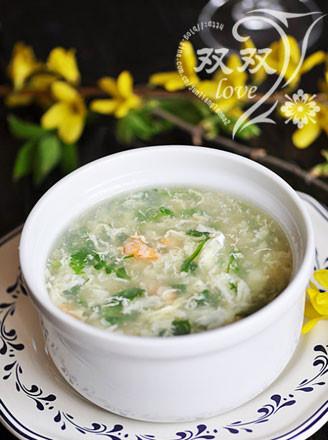 冬瓜蓉荠菜汤的做法