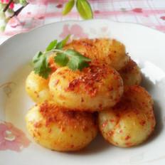 孜香麻辣土豆餅的做法