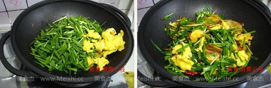 韭菜鸡蛋炒土豆的做法【步骤图】_菜谱_美食杰