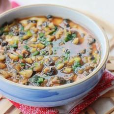 榨菜螺蛳肉炖蛋