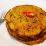 椒盐胡萝卜煎饼的做法