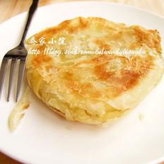 葱花脂油烧饼的做法