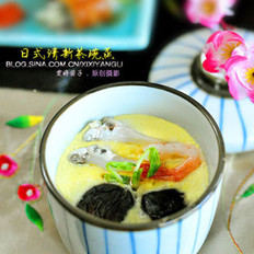 日式茶碗蒸的做法