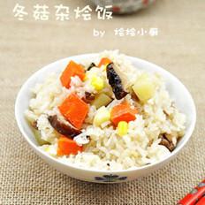 冬菇杂烩饭