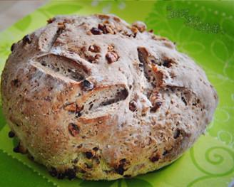 核桃燕麦包的做法