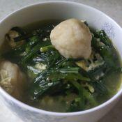 韭菜鱼丸蛋汤