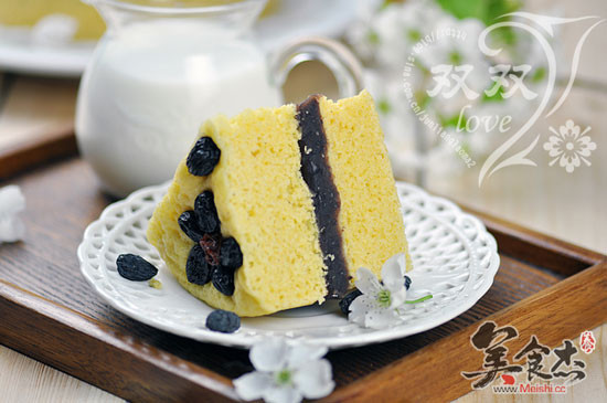 玉米发糕的做法【步骤图】_菜谱_美食杰