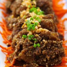 咖喱粉蒸肉的做法