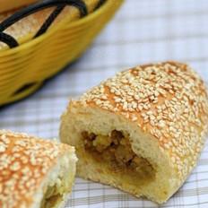 咖喱土豆餐包的做法