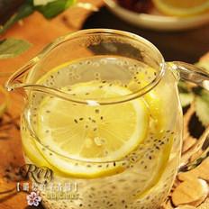 柠檬兰香子饮的做法