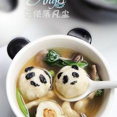 熊猫包心鱼丸的做法