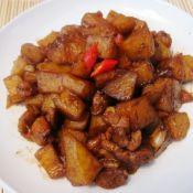 甜面酱鸡腿焖土豆