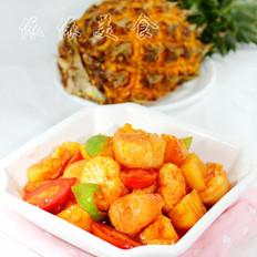 菠萝咕噜日本豆腐的做法