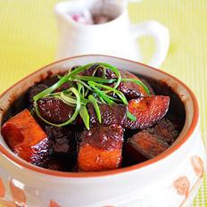 铁锅春笋烧肉的做法
