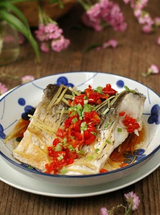 剁椒豉汁蒸草鱼段的做法