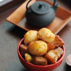 蜜汁土豆炖肉的做法