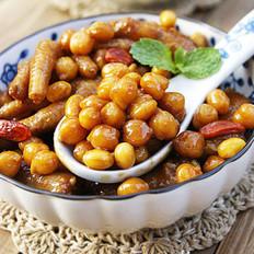 双豆焖凤爪的做法