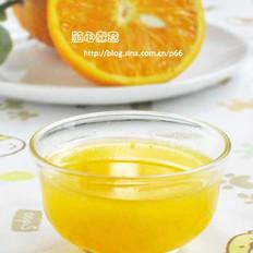 橙子汁的做法