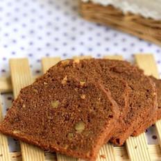 巧克力核桃蛋糕