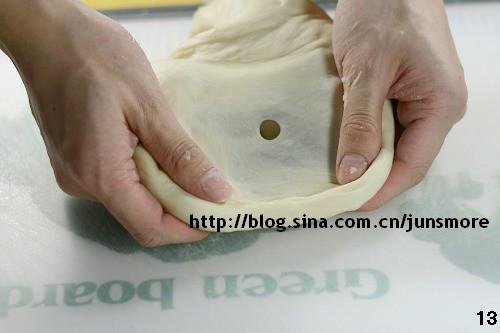 手工面包第一步:揉面发酵步骤图