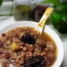 桂圆薏米红豆粥