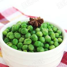 水煮豌豆的做法