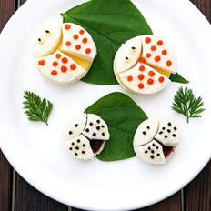 七星瓢虫三明治的做法