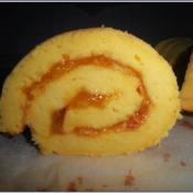金桔酱戚风蛋糕卷的做法