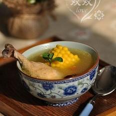 玉米大枣鸡汤的做法