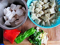 紅燒烤麩杏鮑菇的做法_家常紅燒烤麩杏鮑菇的做法 ...