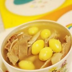 白果猪肚汤的做法